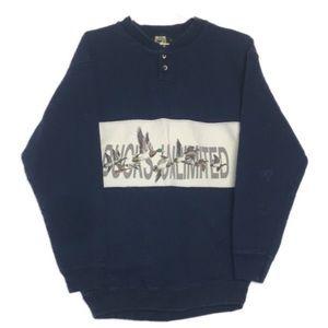 Vintage 90s Duck Popover Sweatshirt